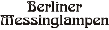 Logo Berliner Messinglampen