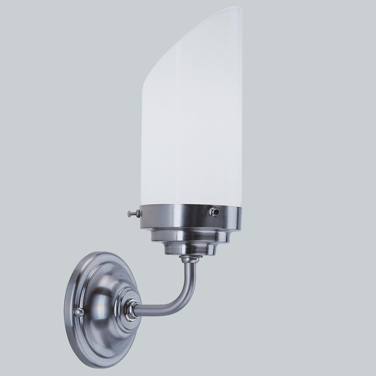 moderne wandleuchte im art deco stil als badlampe. Black Bedroom Furniture Sets. Home Design Ideas