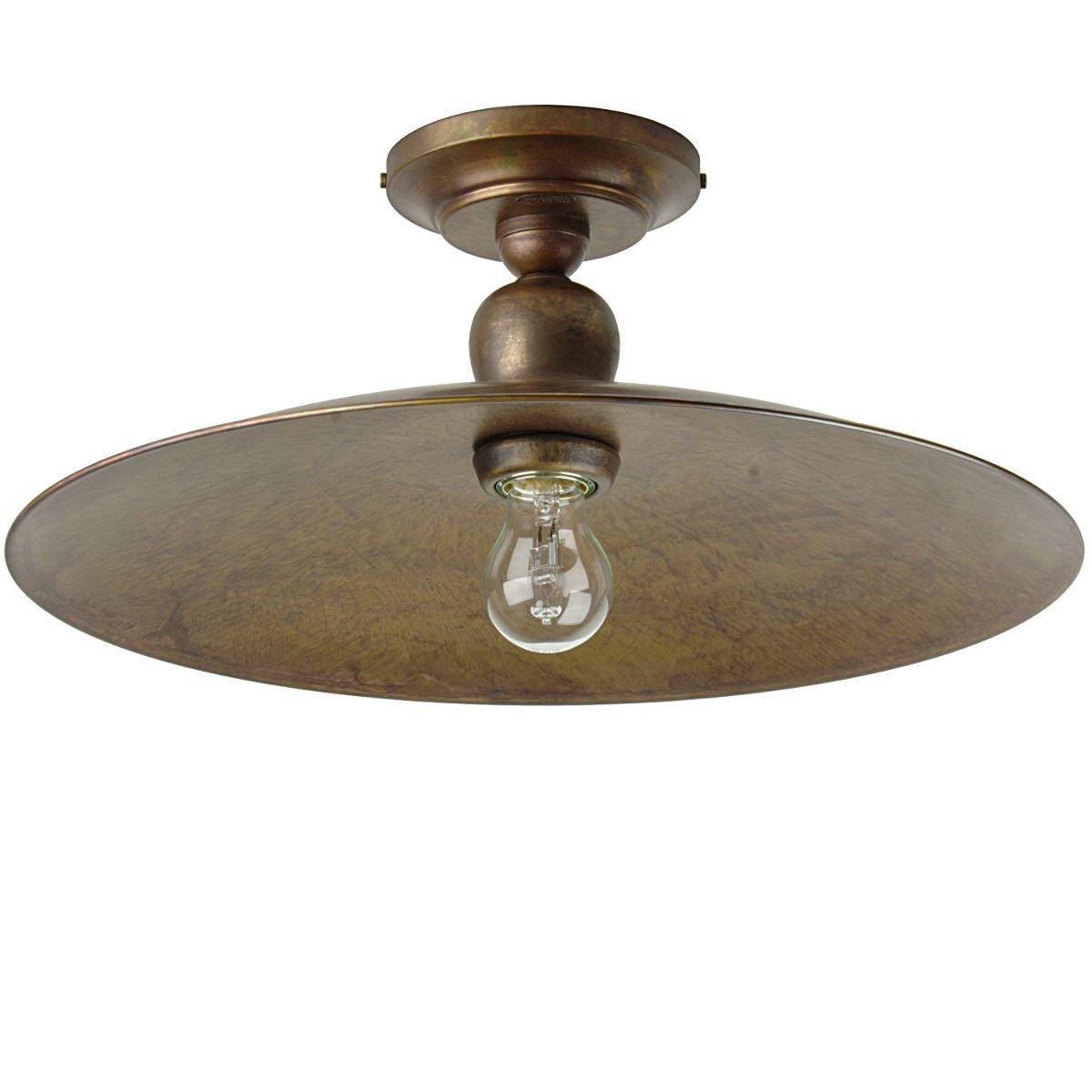 rustikale deckenlampe in messing im italienischen landhausstil von signa g nstig kaufen bei. Black Bedroom Furniture Sets. Home Design Ideas