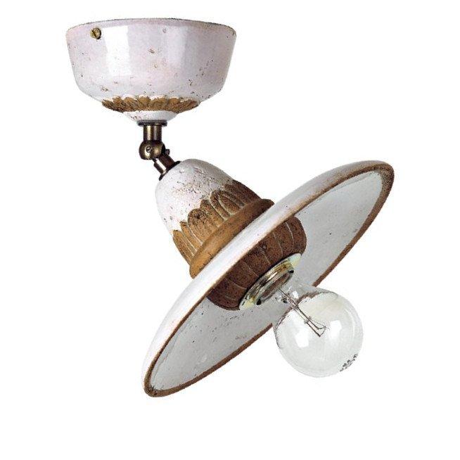 kleine einstellbare deckenlampe fiesole in mediterranem design von toscot. Black Bedroom Furniture Sets. Home Design Ideas