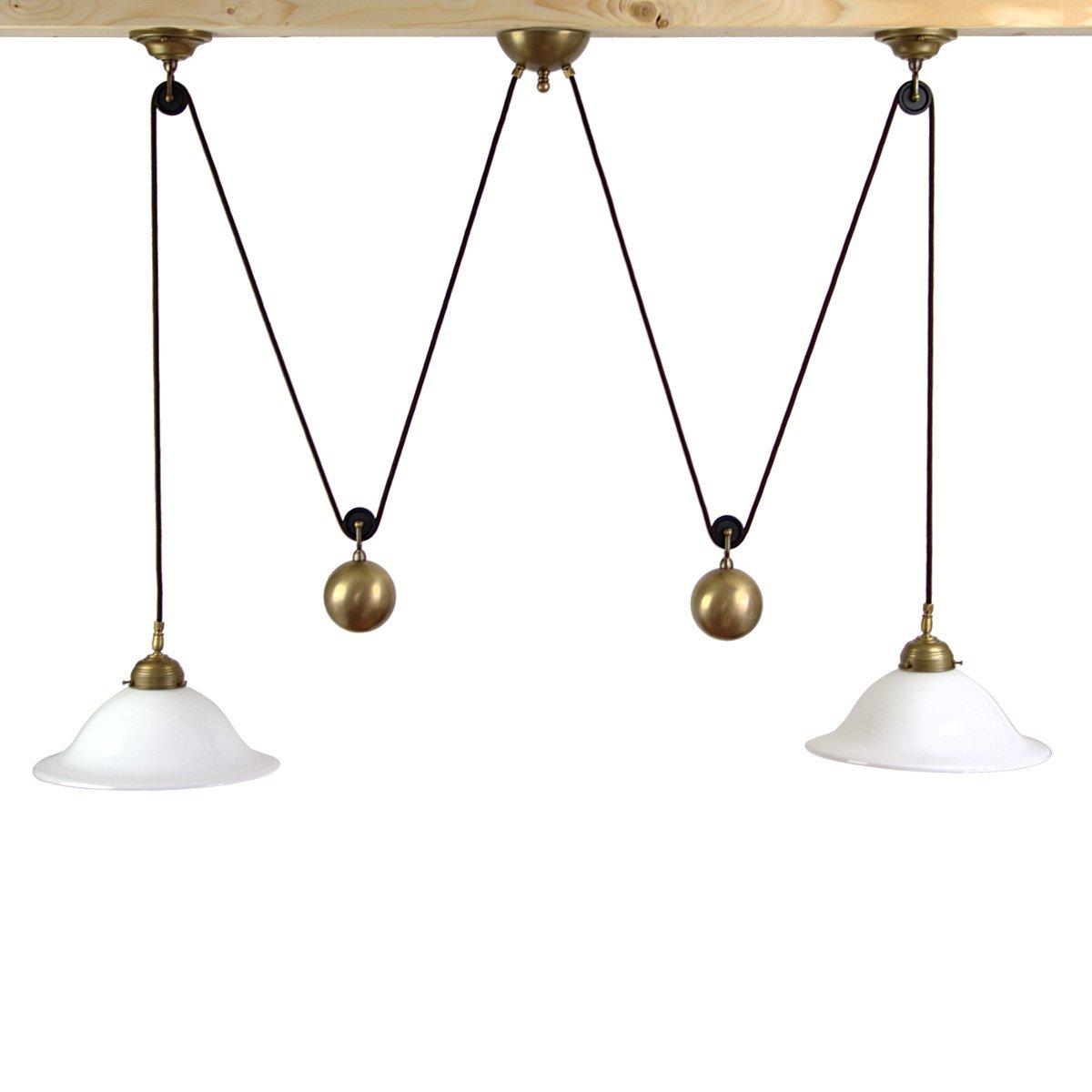 doppelte h ngelampe und zuglampe frieda zur beleuchtung. Black Bedroom Furniture Sets. Home Design Ideas
