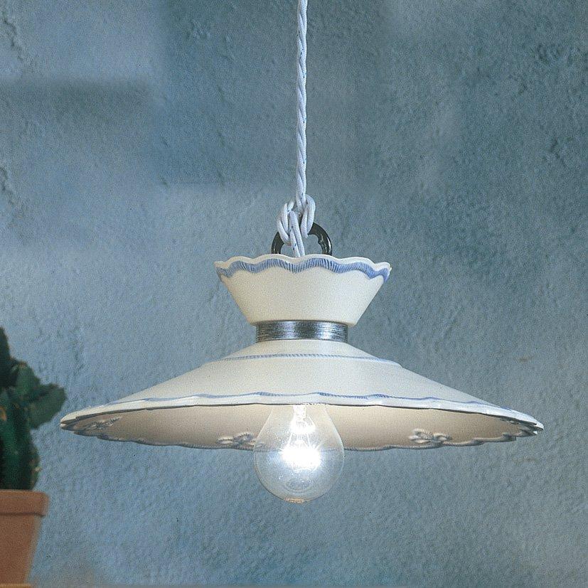 Nostalgische keramik lampe im landhausstil von ferroluce for Lampen nostalgie