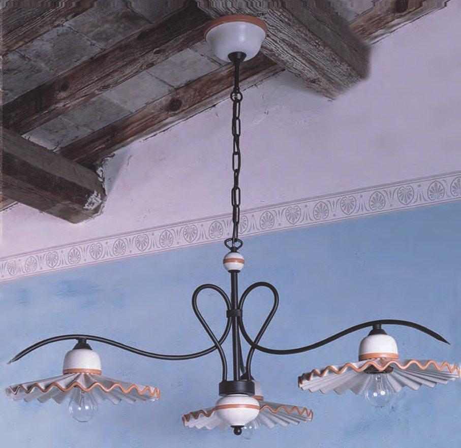 mediterraner kronleuchter im italienischen landhausstil g nstig kaufen bei lampen suntinger shop. Black Bedroom Furniture Sets. Home Design Ideas