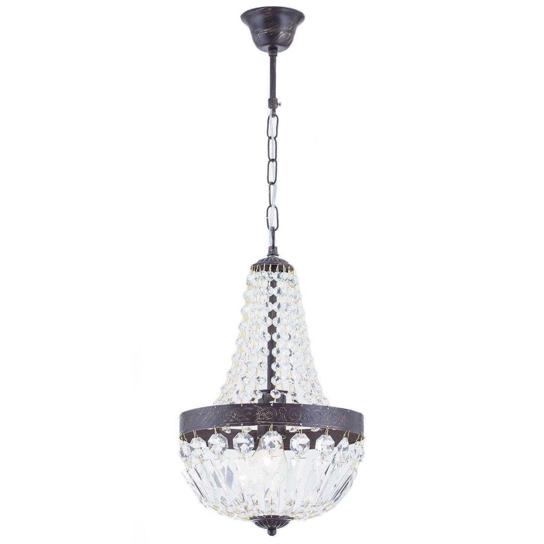 kristall kronleuchter im stil eines sackl sters. Black Bedroom Furniture Sets. Home Design Ideas