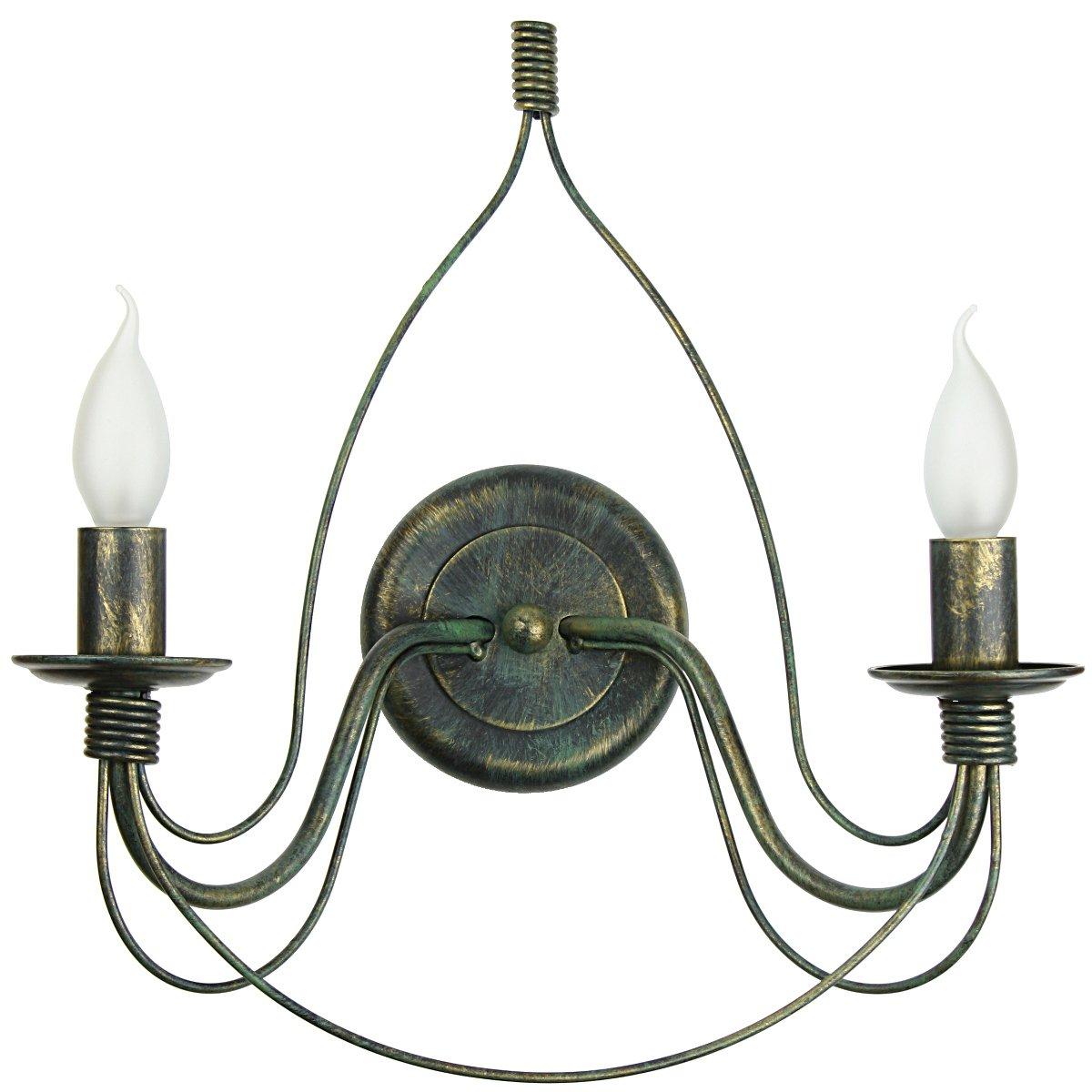 klassischer wandleuchter im landhausstil von hans k gl. Black Bedroom Furniture Sets. Home Design Ideas