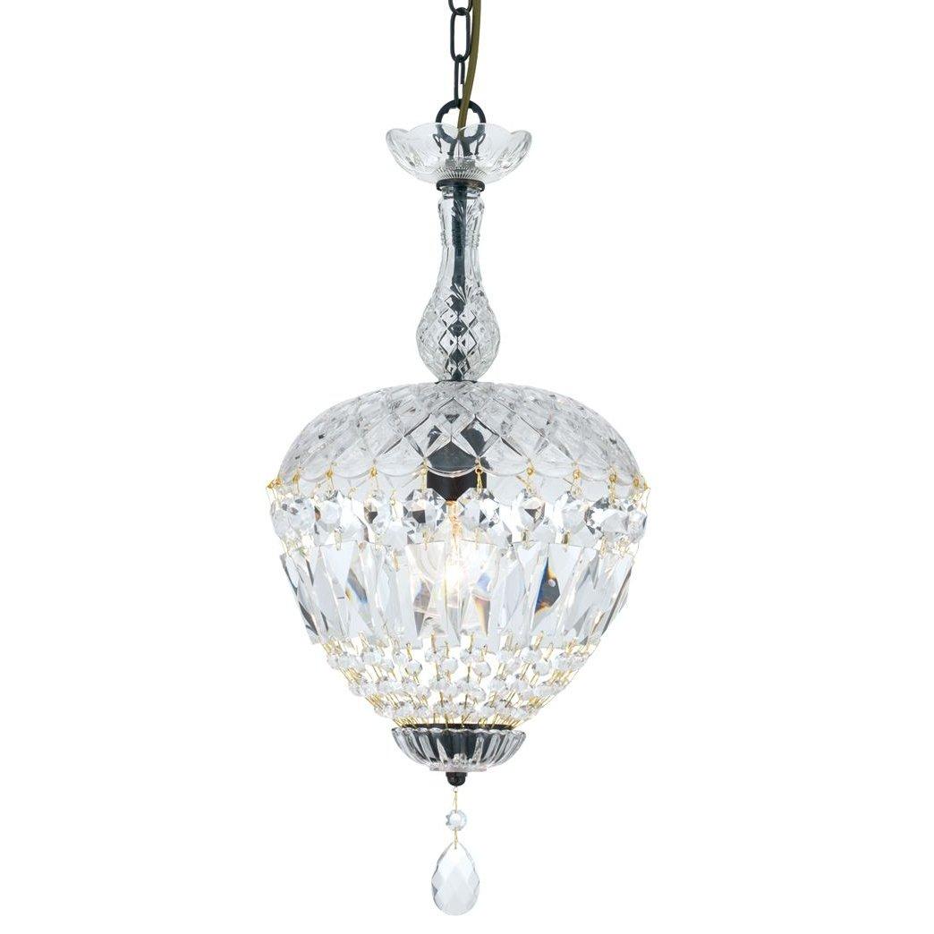 kristall kronleuchter in nuss form im stil eines antiken l sters. Black Bedroom Furniture Sets. Home Design Ideas