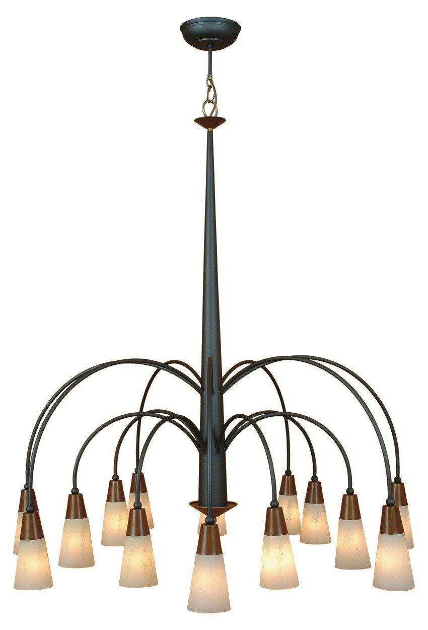 eisen messing kronleuchter zur tischbeleuchtung von menzel leuchten. Black Bedroom Furniture Sets. Home Design Ideas