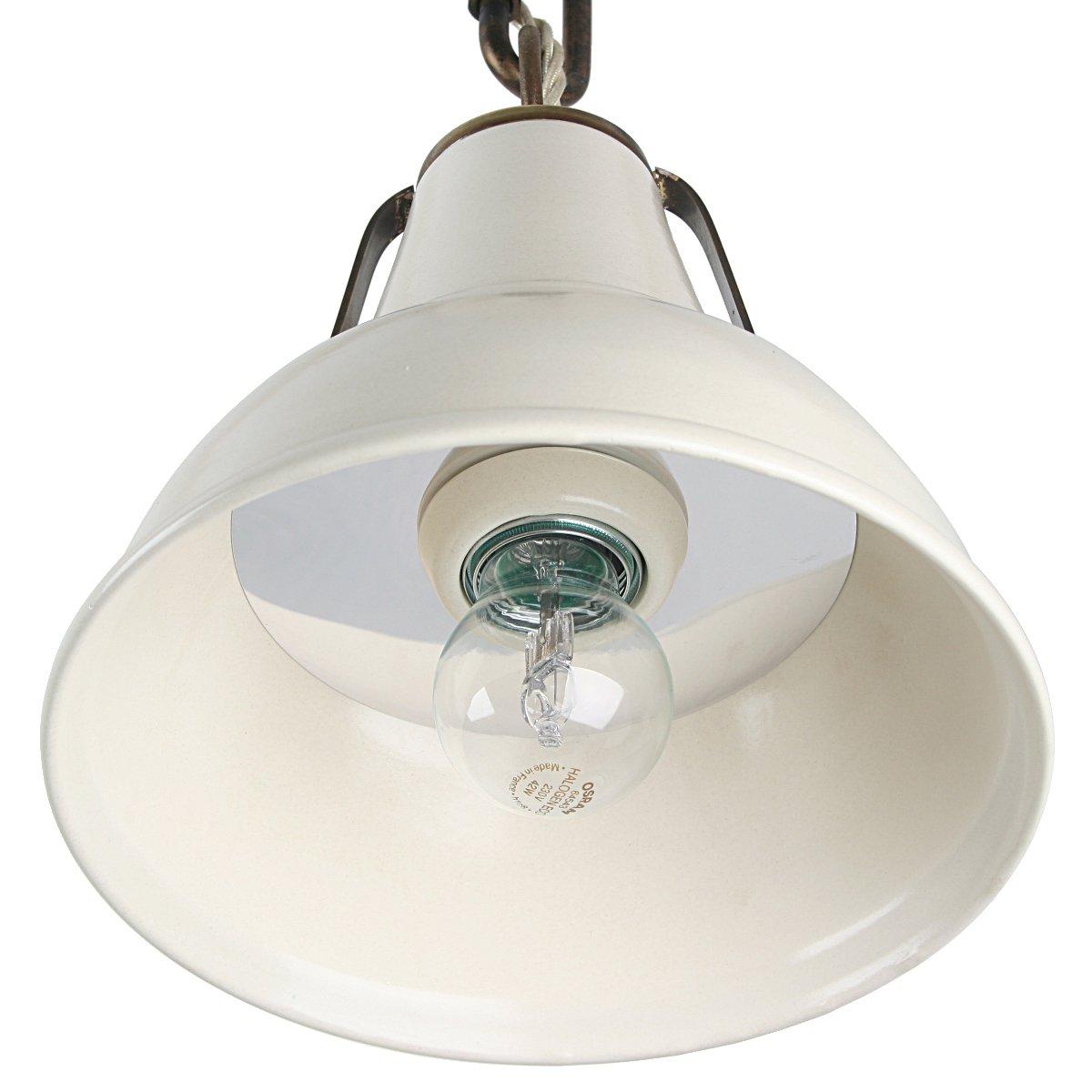 Italienische keramik deckenlampe im industriestil for Ausgefallene deckenleuchten
