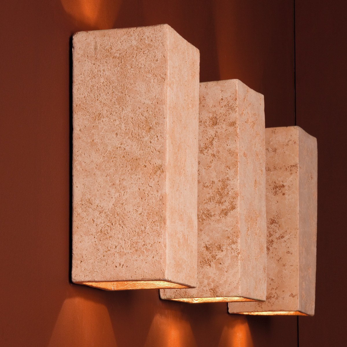 up and down keramik wandlampe montecristo zur indirekten. Black Bedroom Furniture Sets. Home Design Ideas