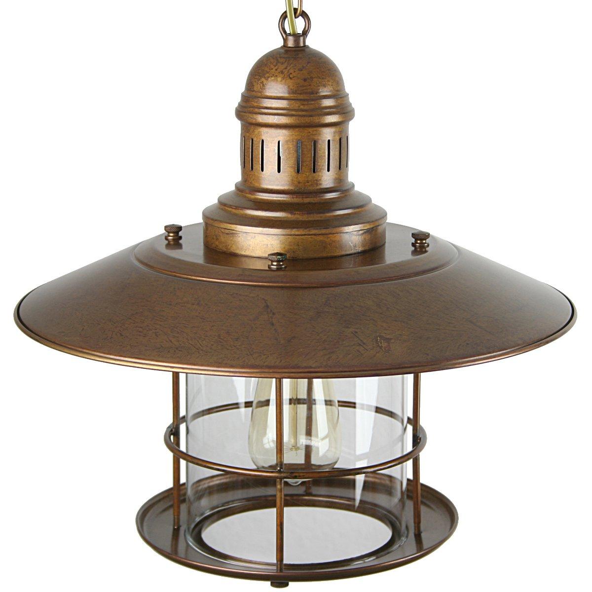 rustikale messing laterne als ausgefallene wohnraumlampe g nstig kaufen bei lampen suntinger shop. Black Bedroom Furniture Sets. Home Design Ideas