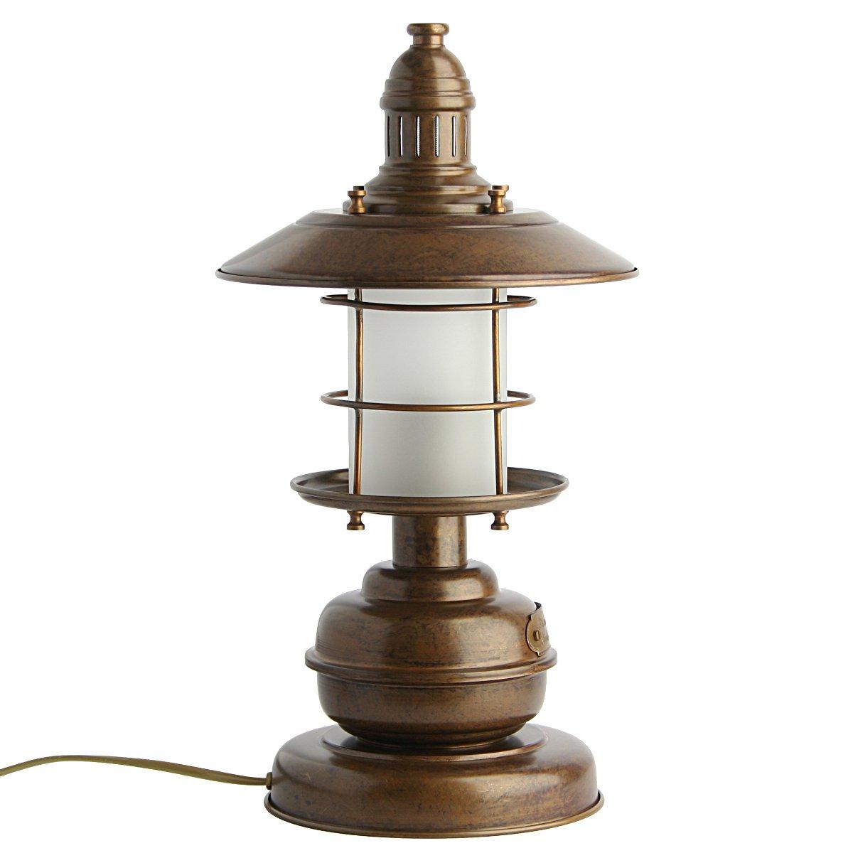 maritime tischlampe im stil einer antiken schiffslampe g nstig kaufen bei lampen suntinger shop. Black Bedroom Furniture Sets. Home Design Ideas