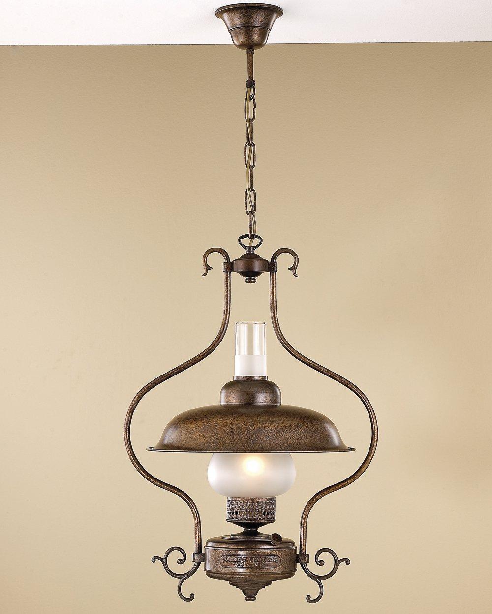 rustikale messingleuchte in form einer alten petroleumlampe zur tischbeleuchtung g nstig kaufen. Black Bedroom Furniture Sets. Home Design Ideas
