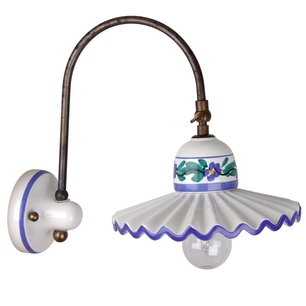 nostalgische wandleuchte im italienischen landhausstil g nstig kaufen bei lampen suntinger shop. Black Bedroom Furniture Sets. Home Design Ideas