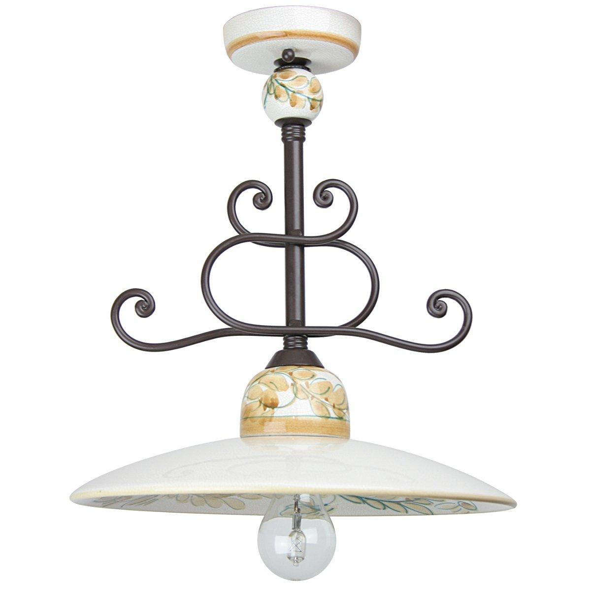 rustikale landhaus deckenlampe vom italienischen lampenhersteller signa g nstig kaufen bei. Black Bedroom Furniture Sets. Home Design Ideas