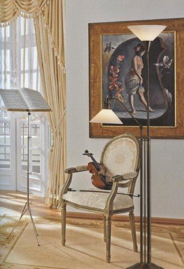 stehlampe standleuchte mit lesearm und deckenfluter mit. Black Bedroom Furniture Sets. Home Design Ideas