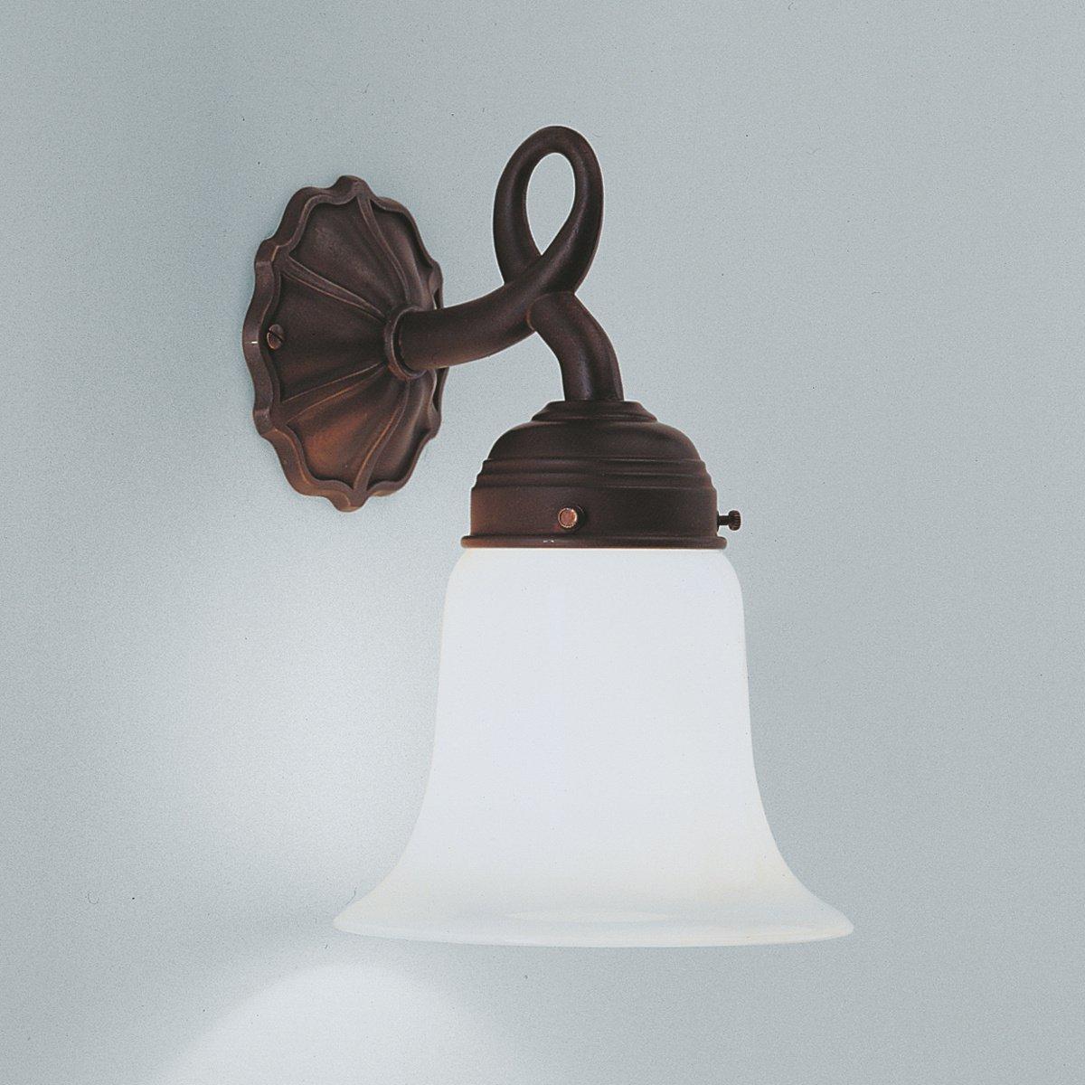 simon messing wandleuchte mit jugendstil ornamentik von berliner messinglampen. Black Bedroom Furniture Sets. Home Design Ideas