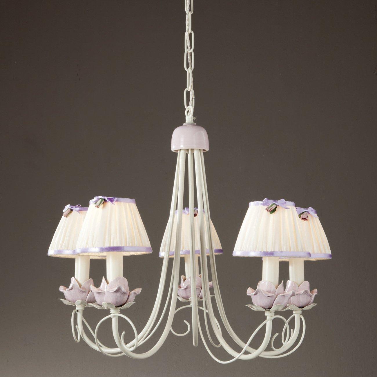 blumiger landhaus leuchter. Black Bedroom Furniture Sets. Home Design Ideas