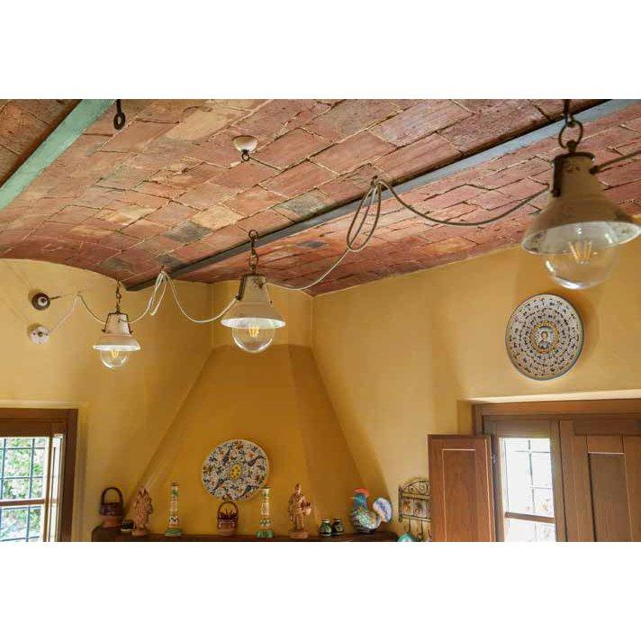 beleuchtungssystem mit italienischen landhaus lampen. Black Bedroom Furniture Sets. Home Design Ideas