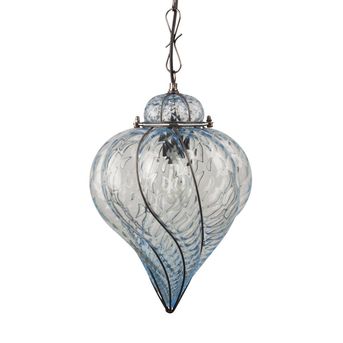 venezianische glas laterne zur innenbeleuchtung. Black Bedroom Furniture Sets. Home Design Ideas