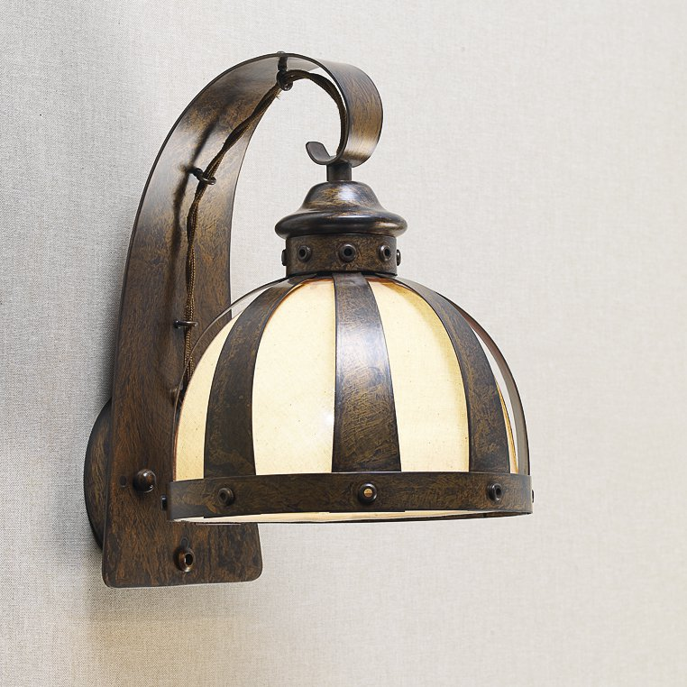 rustikale wandlampen rustikale wandleuchte mit zugschnur. Black Bedroom Furniture Sets. Home Design Ideas
