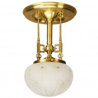 Jugendstil Deckenlampe historische jugendstil-lampe