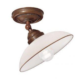 Rustikale deckenlampe in messing im italienischen for Lampen landhaus