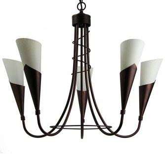 romantischer kerzen kronleuchter im modernen landhausstil von menzel leuchten. Black Bedroom Furniture Sets. Home Design Ideas