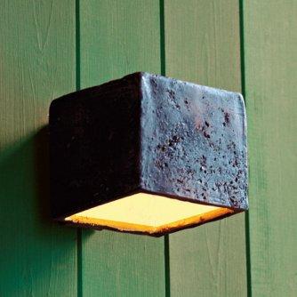 Kleine Keramik Wandlampe Montecristo Im Landhausstil Von Toscot