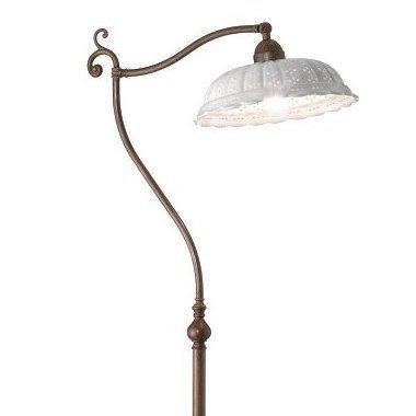 stehlampen und stehleuchten im landhausstil stehlampen aus schmiedee. Black Bedroom Furniture Sets. Home Design Ideas