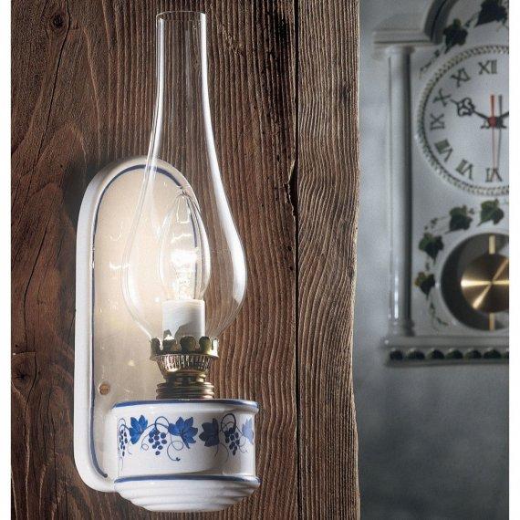 landhaus wandlampe wandlampen antik rustikale lampen. Black Bedroom Furniture Sets. Home Design Ideas