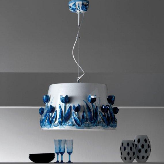 elegante pendelleuchte im mediterranen stil lampen. Black Bedroom Furniture Sets. Home Design Ideas