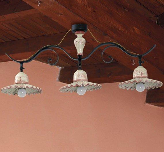 Deckenleuchte landhaus deckenlampen rustikal seite 25 for Deckenleuchte landhausstil