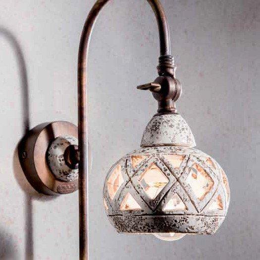 Einstellbare Wandleuchte im orientalischen Stil von Signa