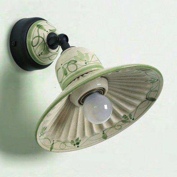 kleiner italienischer wandspot wandleuchte im landhausstil g nstig kaufen bei lampen suntinger. Black Bedroom Furniture Sets. Home Design Ideas