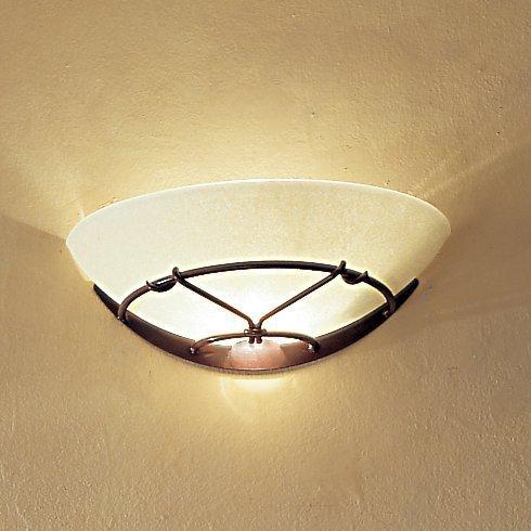 lichtstarker wandfluter im landhausstil zur indirekten beleuchtung g nstig kaufen bei lampen. Black Bedroom Furniture Sets. Home Design Ideas