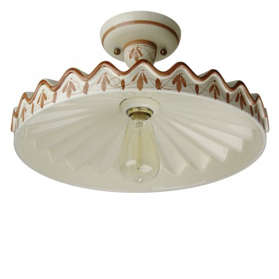 klassische deckenlampe im mediterranen landhausstil von. Black Bedroom Furniture Sets. Home Design Ideas