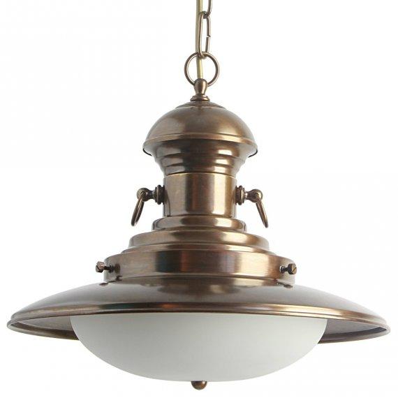klassische schiffsleuchte in messing lampen suntinger shop. Black Bedroom Furniture Sets. Home Design Ideas