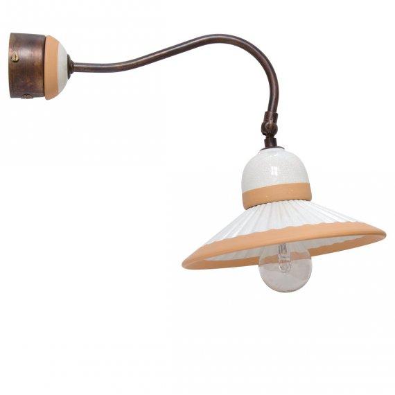 klassische wandlampe im italienischen landhausstil g nstig. Black Bedroom Furniture Sets. Home Design Ideas