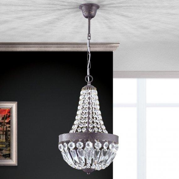 Klassischer Kristall Kronleuchter In Sacklüster Form