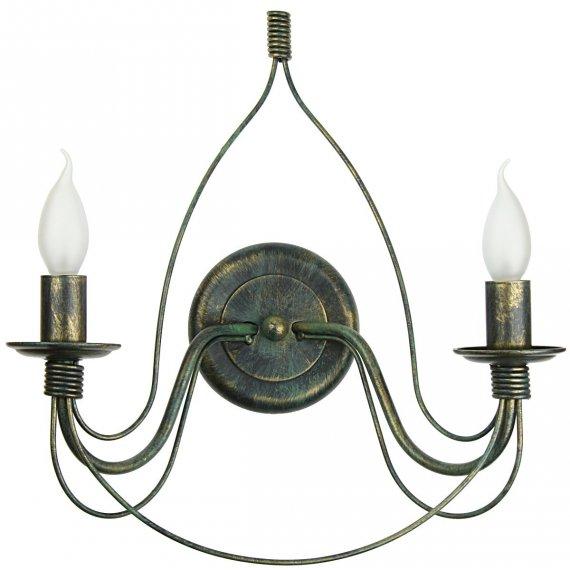 landhaus wandleuchten mit mehreren leuchtstellen. Black Bedroom Furniture Sets. Home Design Ideas
