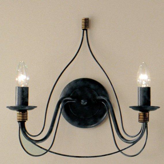 klassischer wandleuchter im landhausstil von hans k gl wohnlicht g nstig kaufen bei lampen. Black Bedroom Furniture Sets. Home Design Ideas
