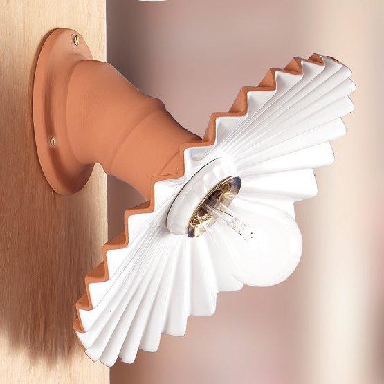 keramik wandlampen. Black Bedroom Furniture Sets. Home Design Ideas
