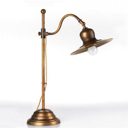antike messing tischlampe im historischen stil vom italienischen hersteller signa g nstig kaufen. Black Bedroom Furniture Sets. Home Design Ideas
