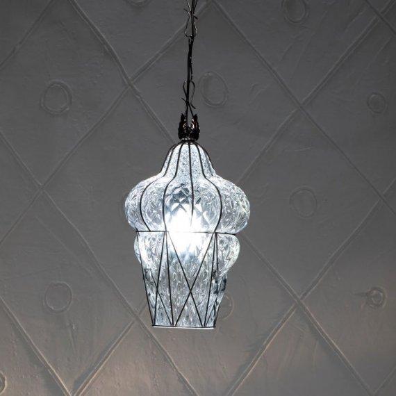 venezianische glaslaterne im orientalischen stil zur. Black Bedroom Furniture Sets. Home Design Ideas