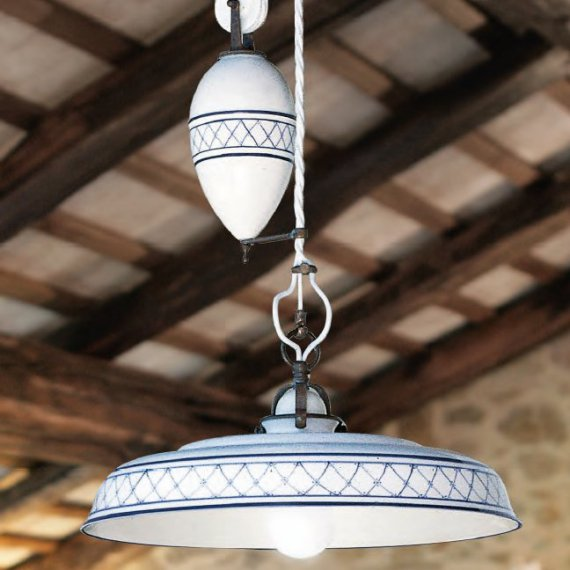 Kuchenlampe Provenza In Keramik Von Aldo Bernardi