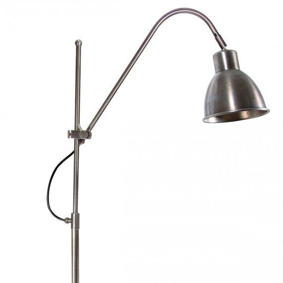 funktionale messing stehleuchte als lese und arbeitsleuchte lampen suntinger shop. Black Bedroom Furniture Sets. Home Design Ideas