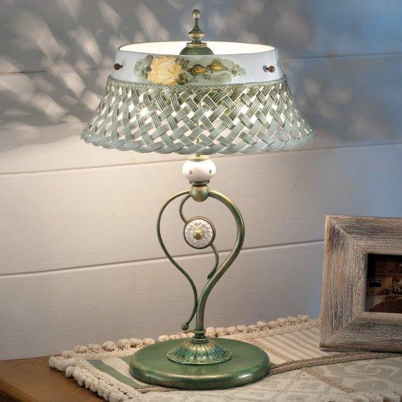 dekorative tischlampen im jugendstil und im landhausstil. Black Bedroom Furniture Sets. Home Design Ideas